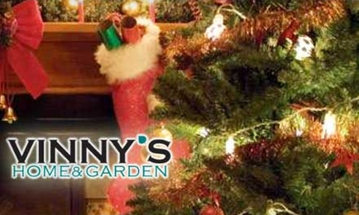 Vinny's Home & Garden - East Hartford: $15 for $35 Worth of Christmas Decorations, Gifts, Plants, and More at Vinny's Home & Garden