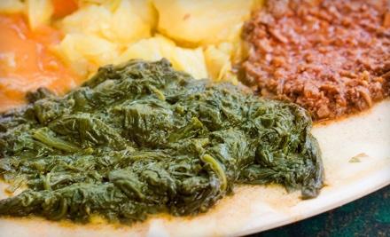 $25 Groupon to Tina's Ethiopian Cafe - Tina's Ethiopian Cafe in Gilbert