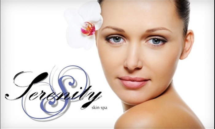 Serenity Skin Spa - Central Scottsdale: $39 for One of Three Facials and an Eyebrow Waxing at Serenity Skin Spa in Scottsdale (Up to $92 Value)