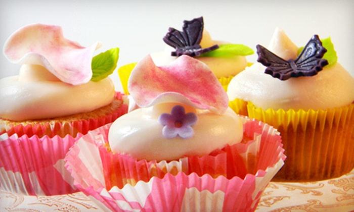 The Cake Professor - Eva P. Trezevant: $69 for 75 Wedding Cupcakes from The Cake Professor ($150 Value)