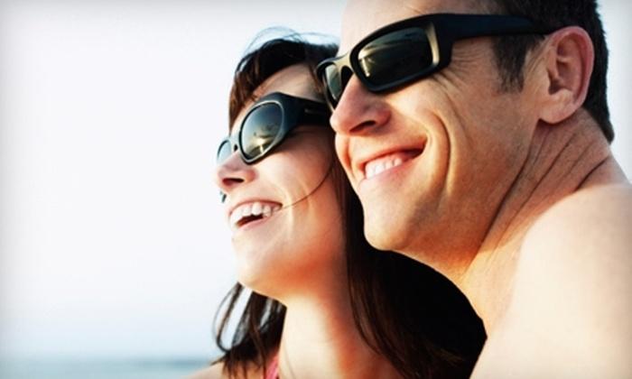 New England Eye - Multiple Locations: $50 for $200 Toward Complete Eyeglasses or $150 for $300 Toward Designer Sunglasses at New England Eye