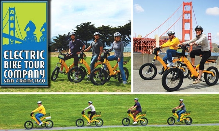 Electric Tour Company - Nob Hill: $40 for 3.5-Hour Electric Bike Tour of San Francisco and Sausalito ($70 Value)