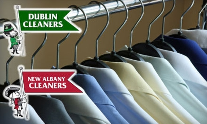 Dublin Cleaners - Columbus: $20 for $40 Worth of Pick-Up and Delivery Dry Cleaning at Dublin Cleaners or New Albany Cleaners