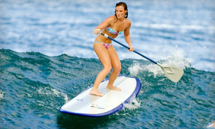 Island Riders - Multiple Locations: $59 for a 90-Minute Standup Paddle Tour from Island Riders ($125 Value)