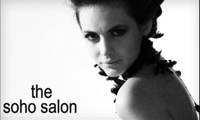 Soho Salon - Pittsford: $20 for a Haircut ($45 Value) or $40 for a Haircut and Color ($85 Value) at Soho Salon in Pittsford