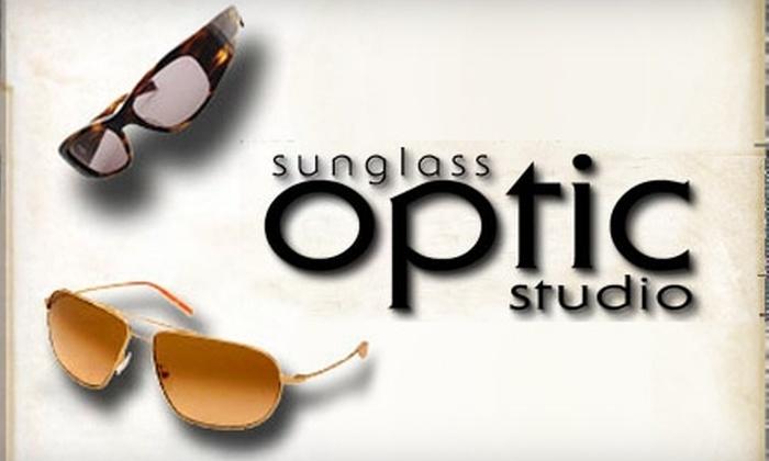 Sunglass Optic Studio - Summerlin: $50 for $100 Worth of Eyewear at Sunglass Optic Studio