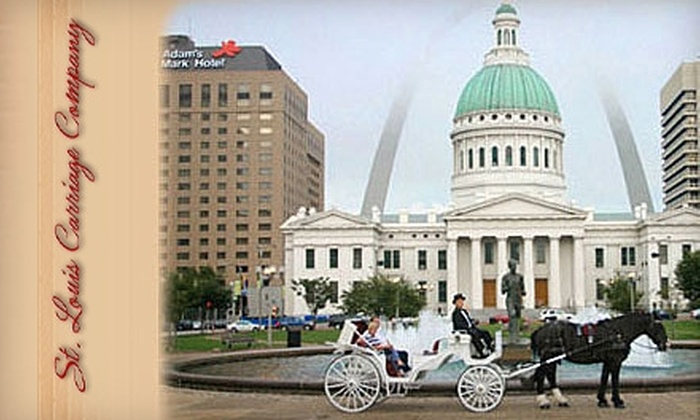 St. Louis Carriage Company - Multiple Locations: $25 for a 30-Minute Carriage Ride for Two from St. Louis Carriage Company