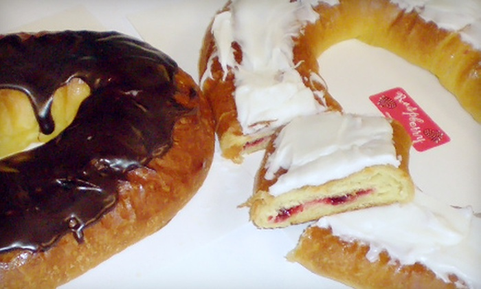 Scott's Pastry Shoppe - Middleton: $10 for Two Kringles at Scott's Pastry Shoppe in Middleton ($20 Value)