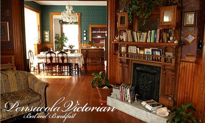 Pensacola Victorian - Downtown: $62 for a One-Night Stay for Two at the Pensacola Victorian (Up to $125 Value)