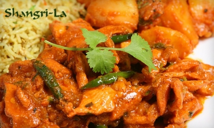 Shangri-La Café & Grill - Rohnert Park: $10 for $20 Worth of Himalayan Cuisine and Drinks at Shangri-La Café & Grill in Rohnert Park