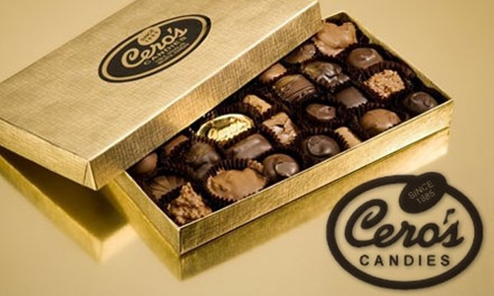 Cero's Candies  - Downtown Wichita: $10 for 21-Piece Assortment Box of Caramels, Turtles, and Coconut Haystacks from Cero's Candies ($21 Value)