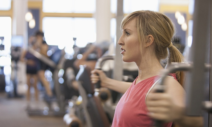 Anytime Fitness - Bend: One- or Two-Month Membership with Two Guest Passes at Anytime Fitness (Up to 81% Off)
