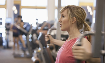 One- or Two-Month Membership with Two Guest Passes at Anytime Fitness (Up to 81% Off)