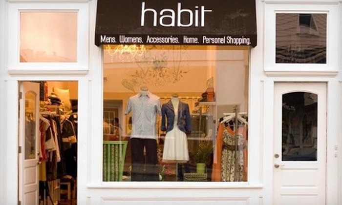 Habit - Telegraph Hill: $25 for $50 Worth of Boutique Apparel at Habit