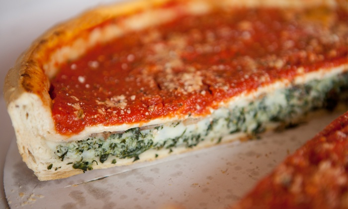 Tortorice's Pizza - West Town: $11.99for $20 Worth of Italian Food at Tortorice's Pizza