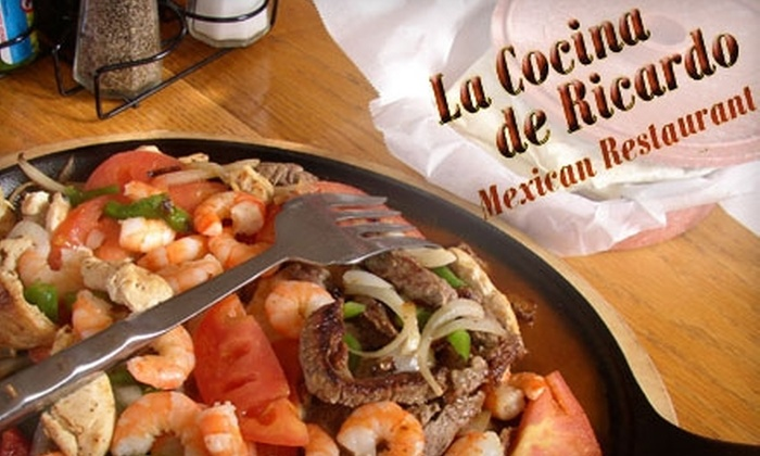 La Cocina de Ricardo - Lake Forest: $10 for $20 of Mexican Fare and Drinks at La Cocina de Ricardo in Lake Forest