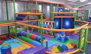 Pipsqueaks Play CAFE: Soft Play for Two or Four with Juice and Tea or Coffee at Pipsqueaks Play Cafe (49% Off)
