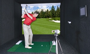 City Tee Time: Private Virtual Golf Session for 9 or 18 Holes at City Tee Time (Up to 50% Off). Three Options Available.
