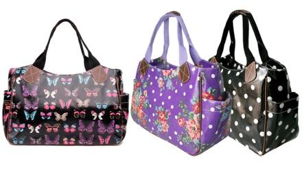 Miss Lulu Wachstuch-Damentasche im Design und der Farbe nach Wahl
