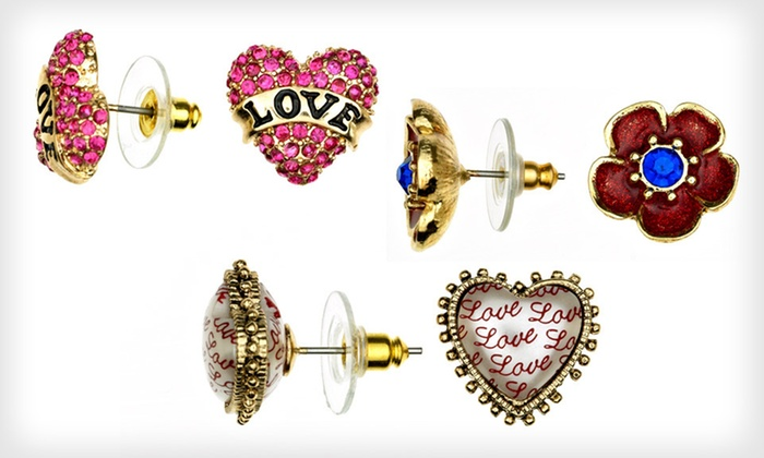Betsey Johnson Jewelry: Betsey Johnson Jewelry (Up to 60% Off). 13 Options Available. Free Shipping on Purchases of $15 or More.