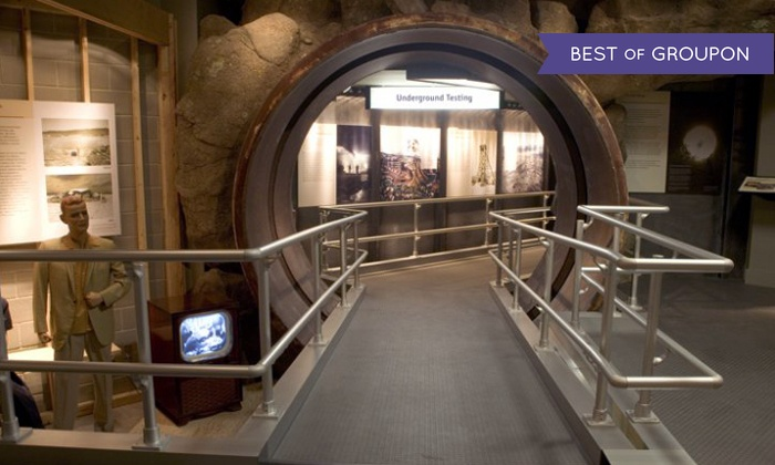 National Atomic Testing Museum - Paradise: National Atomic Testing Museum Visit for One, Two, or Four with  Access to the Area 51 Exhibit (Up to 53% Off)