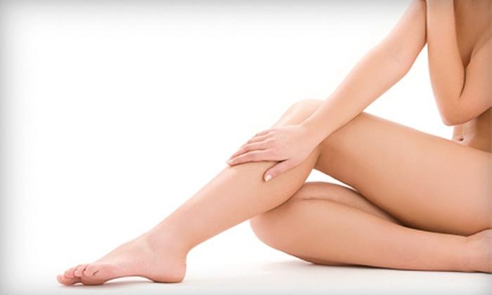 NV Medical Spa - Woodbridge: $35 for a Spa Mani-Pedi with Leg Exfoliation at NV Medical Spa ($70 Value)