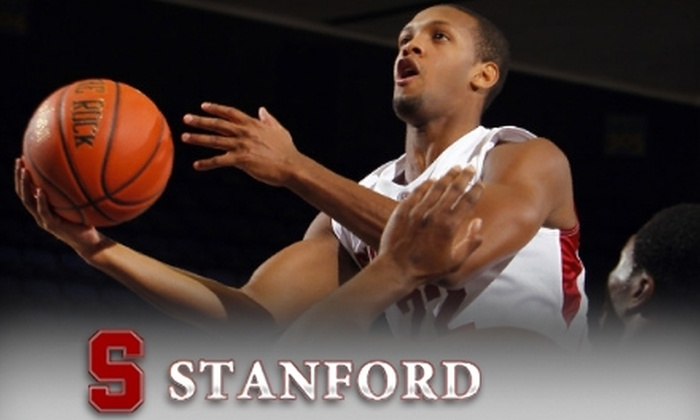 Stanford University Athletics - Stanford University: $12 for an Upper-Level End Ticket to Stanford University Men's Basketball Game on December 28 ($22 Value)