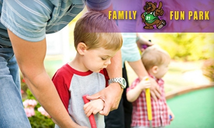 Family Fun Park - Langford: $7 for One All-Day Pass to Family Fun Park at City Centre Park