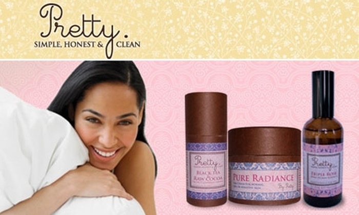 Pretty Organic Cosmetics - Downtown Toronto: $25 for $100 Worth of Products from Pretty Organic Cosmetics
