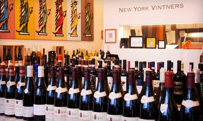 New York Vintners - Tribeca: $25 for One Wine Class of Your Choice at New York Vintners ($50 Value)