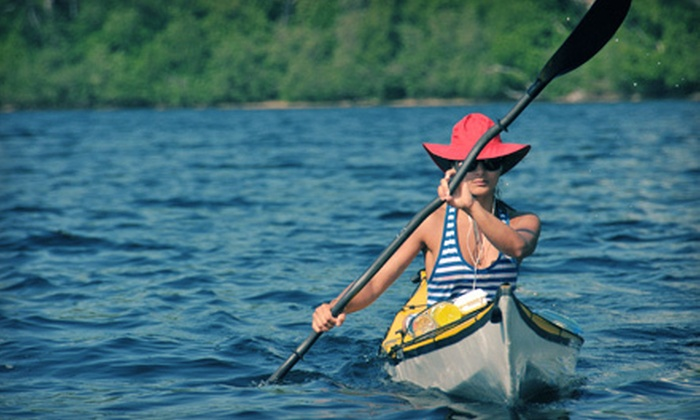 Texas Pack & Paddle - San Antonio: Three-Hour Basic Kayak Class or Four-Hour Guided Tour from Texas Pack & Paddle (51% Off)