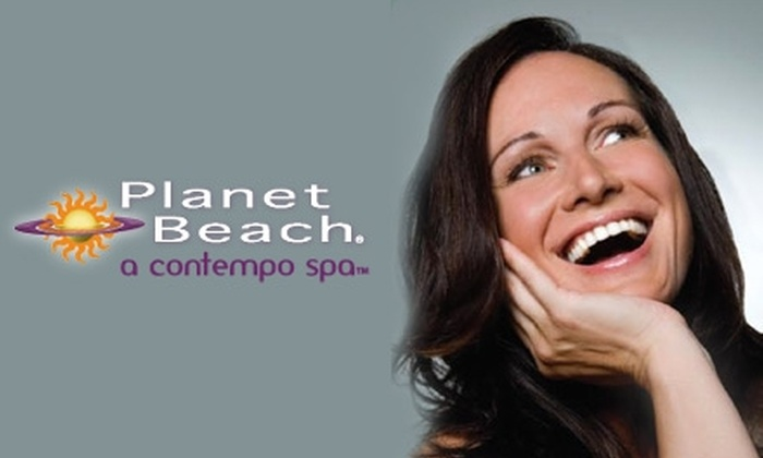 Planet Beach Contempo Spa - Limberlost: $20 for One Week of Unlimited Spa Services at Planet Beach Contempo Spa (Up to $250 Value)