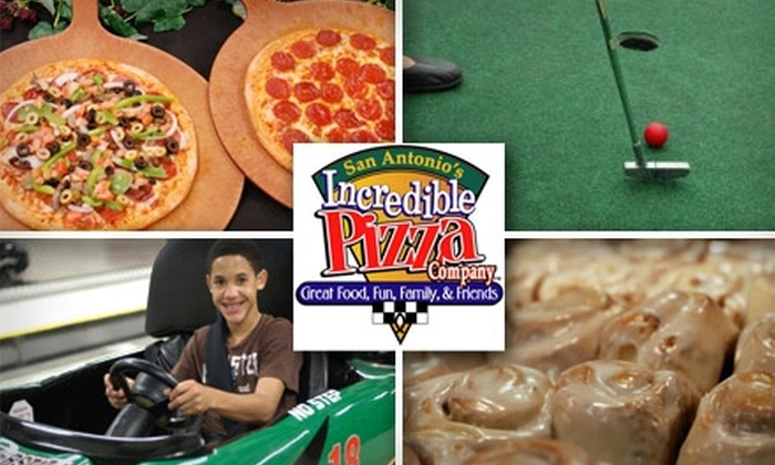 Incredible Pizza Company - Greater Harmony Hils: $10 for $20 Worth of Games, Grub, and More at Incredible Pizza Company