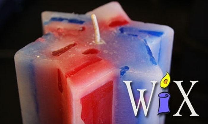WiX - Scotts Valley: $10 for $20 Worth of Make-Your-Own Candles or Soaps at WiX