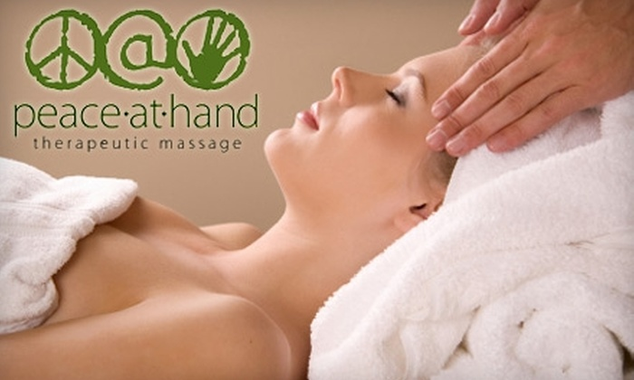 Peace At Hand Therapeutic Massage - Enfield: $32 for 60-Minute Massage at Peace at Hand Therapeutic Massage ($65 Value)