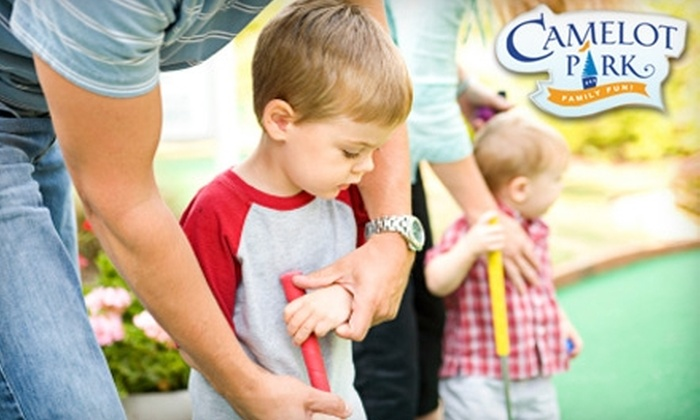 Camelot Park Entertainment Center - Riviera/Westchester: $6 for Two Rounds of Mini Golf at Camelot Park Entertainment Center (Up to a $13.50 Value)