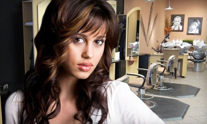 Salon Escape - Chesterfield: $55 for Haircut, Style, Partial Highlight, and Deep-Conditioning Treatment at Salon Escape in Chesterfield ($125 Value)