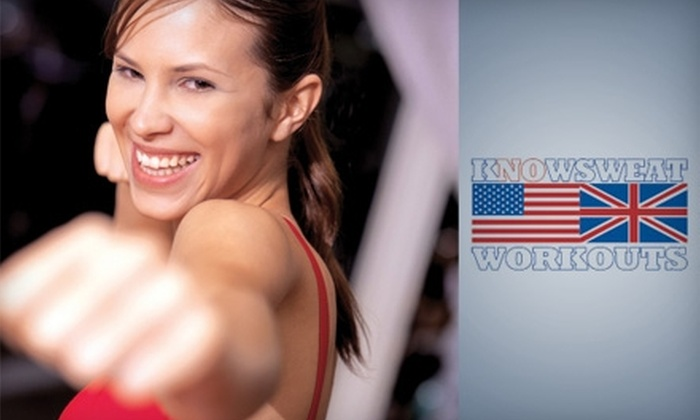 KnowSweat Workouts  - Washington: $25 for a Five-Class Punch Card at KnowSweat Workouts (Up to $75 Value)