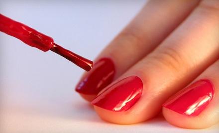 Arcayne Salon: Basic Mani-Pedi, Plus an Arm-and-Leg-Massage Add-On and a Foot Scrub - Arcayne Salon in Miami