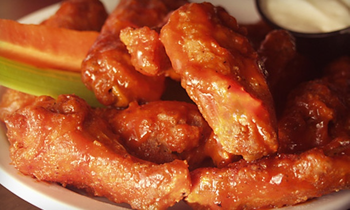 Fleury of Wings - Gentilly Terrace: Buffalo-Wing Dinner for Two or Cajun-Inspired Fare at Fleury of Wings