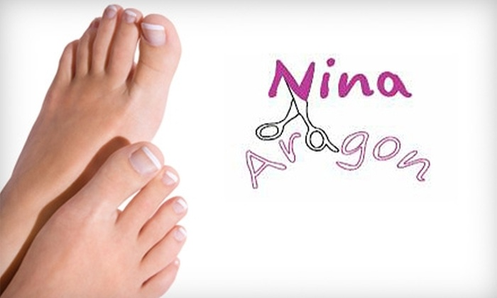 Nina Aragon - Sombra Del Monte: $55 for a Chocolate Signature Pedicure plus Haircut or Conditioning Treatment (Up to $115 Value)