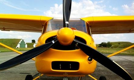 Pilot für einen Tag inklusive Theorieunterricht, Einweisung und 20 Minuten selber fliegen bei Cloud9 Aviation ab 119 €