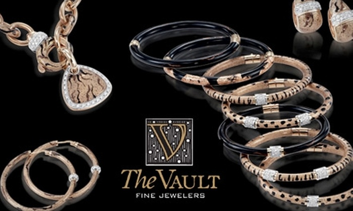 The Vault - Viva La Vault - Multiple Locations: $100 for $225 Worth of Upscale Jewelry at The Vault or $25 for $50 Worth of Fashion Jewelry at Viva La Vault
