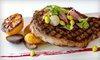 Half Off Fine-Dining Cuisine at View Restaurant and Terrace Lounge