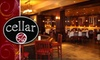 Cellar 56 - South Tuxedo Park: $15 for $30 Worth of Wine and Small Dishes at Cellar 56