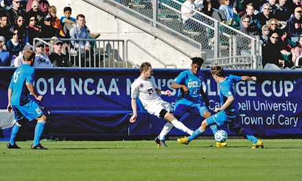 NCAA Men's Soccer College Cup Semifinals on December 11 or Championship on December 13