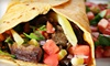 Pancho Villa Mexican Restaurant - Multiple Locations: $12 for a Mexican Dinner for Two with Drinks and Chips and Salsa at Pancho Villa Express (Up to $26.50 Value)