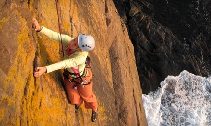 Acadia Mountain Guides - Bar Harbor: $45 for $90 Worth of Outdoor Rock or Ice Climbing from Acadia Mountain Guides in Bar Harbor