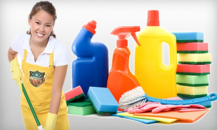 Maid American Style - Multiple Locations: Two, Three, or Four Man-Hours of Housecleaning from Maid American Style (Up to 62% Off)