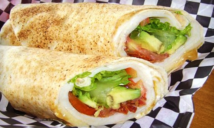 Cyclone Pitas - Fairview Park: $5 for $10 Worth of Pita Wraps and Drinks at Cyclone Pitas in Fairview Park